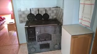 Leivinuuni keittiössä