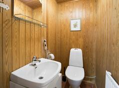 kellarikerroksen wc / kellarvåningens wc