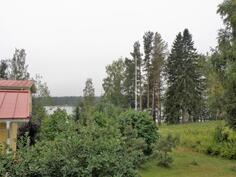 näkymä parvekkeelta järvelle