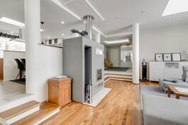 olohuone+ruokailuhuone, n.36 m2