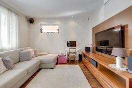 alakerran tv-huone, 12 m2