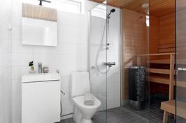 Laadukkaat kylpyhuone ja sauna
