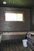 remontoitu sauna ja Aina-Valmis -kiuas