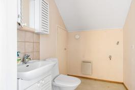 yläkerta wc