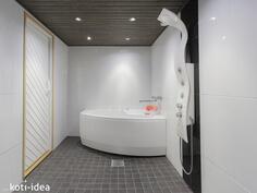 Uudistettu kylpyhuone porealtaalla!