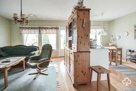 Olohuone, keittiö / Vardagsrum, kök