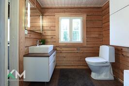Saunarakennus WC
