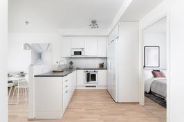 Kalustettu malliasunto A18, keittiö