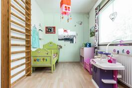 Tyttöjen söpö huone.
