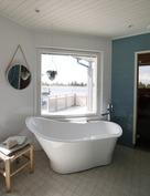 Saunarakennuksen kylpyamme