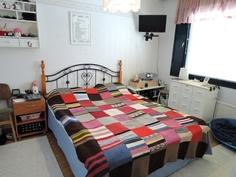 Lännenpuolen makuuhuone