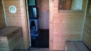 Pukuhuone / sauna