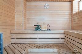 Neliön sauna