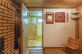 Sauna puku/takkahuone 1