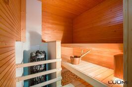 saunassa valmius myös puukiukaalle