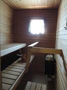 Asunnon puolella oleva sauna
