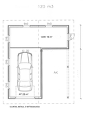 Autotalli/varasto