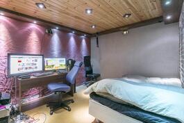 Kellarikerroksen huone