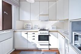 Erillisen kaksion keittiö