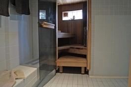 tyylikäs saunaosasto, Harvian pilarikiuas