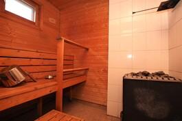 Pienen talon sauna