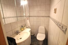 Alakerran toinen wc