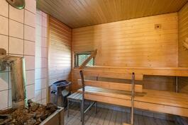 sauna siipiosassa
