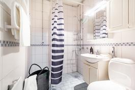Remontoitu kylpyhuone / Renoverad badrum