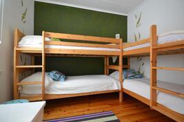 majoitustiloja on kolme huonetta