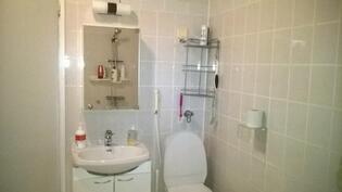Pesuhuoneessa toinen wc