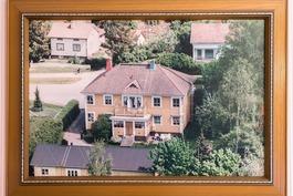 vanha ilmakuva talosta