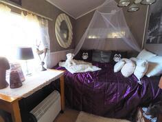 saunarakennuksessa myös vierashuone