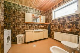 Erillinen WC / Separat WC I krs/vån
