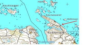 venepaikat Kukkoniemi
