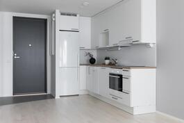 Tyylikäs ja laadukas keittiö
