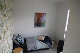 Esimerkkikuva toinen makuuhuone vastaavasta talosta (ei ole myytävästä kiinteistöstä)