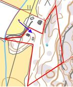 Kiinteistö kartalla - Fastigheten på karta