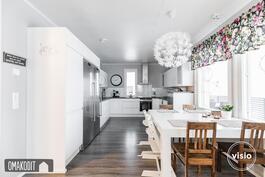 Keittiö ja ruokailutila 20,5m²