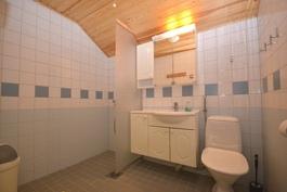 yläkerta kylpyhuone