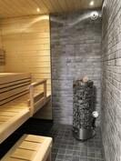 Juuri uusittu sauna