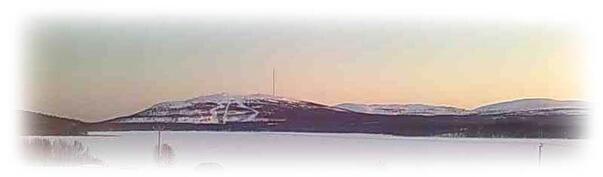 Panoraamakuva Pyhän suuntaan