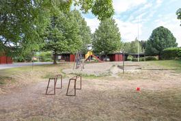 Lapsille suojaisa leikkipaikka