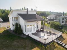 Talo ilmasta käsin kuvattuna