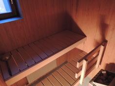 Oma sauna jossa ikkuna