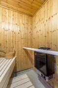 Sauna kellarissa / Bastu i källaren