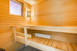 Sauna ikkunalla / Bastu med fönster