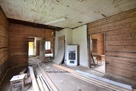 Vanhaa taloa/kauppaa