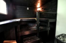 Tilavaa saunaa