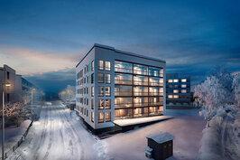 Rovaniemen Lainaanhelmi on 5-kerroksinen kerrostalo, jossa on yhteensä 33 asuntoa.