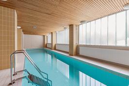 Uima-allas- ja saunaosasto